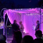 ziemas kāzu ceremonija