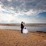 jūras kāzu fotosesija