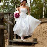 pie jūras kāzu foto