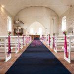 kāzas Krimuldas baznīcā