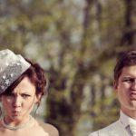 oriģināls kāzu foto