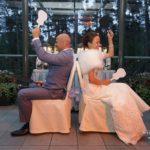 jaunā pāra atrakcijas kāzās, kāzas divās valodās
