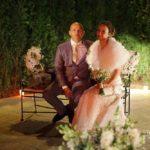 jaunais pāris, kāzu vakars