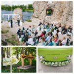 kāzu ceremonija Kokneses pilsdrupās