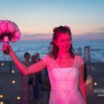 pušķa mešana kāzās, kāzas krievu valodā