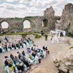 kāzu ceremonija Kokneses pilsdrupās, Andris Sproģis