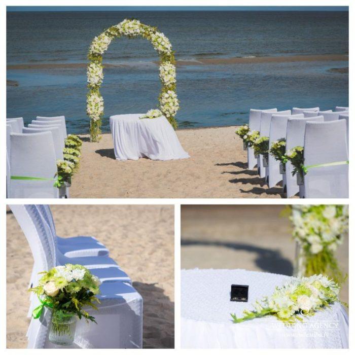 ceremonija pie jūras, ENG