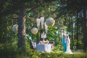 kāzu fotosesija mežā, kāzas krievu valodā