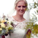 kāzu fotosesija, līgava, līgavas pušķis