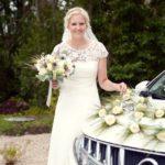 kāzu kleita, kāzu auto, līgavas pušķis