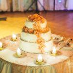 Kāzu torte, tortes galds, Debesu bļoda