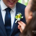 līgavaiņa ziedu piespraude