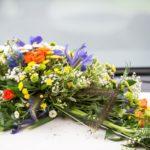 floristika kāzām, kāzu floristika, kāzu auto