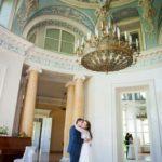 deja Mežotnes pilī, kāzas