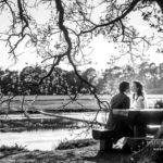 melnbalts kāzu foto, kāzu romantika, Edgars Pohevičs