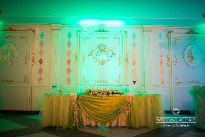 viesu nams Sapņu saliņa, kāzu noformējuma idejas