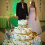 viesu nams Sapņu saliņa, kāzu kūciņtorte