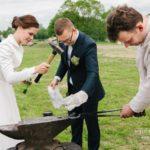 kalējs kāzās