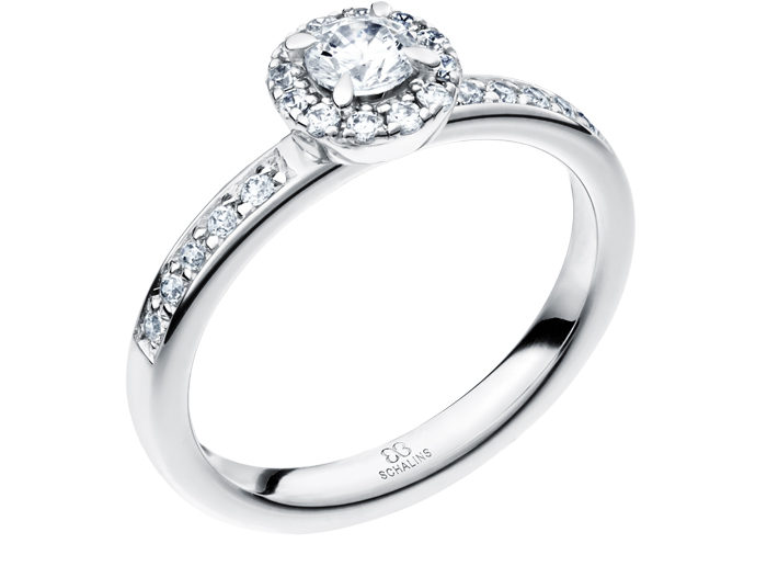Baltais zelts, Diamond Rings, gold, gredzeni, palādijs, Palladium, rings, saderināšanās gredzeni, Schalins Ringar, white gold