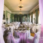 Mežotnes pilī kāzu svinības, kāzu noformējums