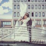 kāzas Ventspilī, tilts kāzās