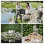 romantiskais galdiņš kāzās, kāzu fotosesija