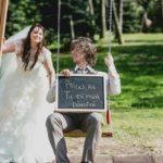 oriģinālas idejas kāzu fotosesijai