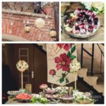 Saldumu galdi kāzās, kāzu dekorācijas