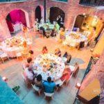 kāzas Livonijas pilī, kāzu zāles noformējums