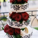 kāzu torte, radošs noformējums kāzu tortei