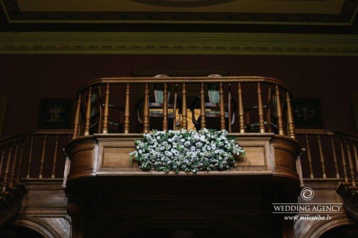 internacionālas kāzas, balkons