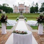 kāzas Bīriņu pilī, kāzas angļu valodā