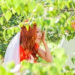 līgava rudmate, kāzu foto