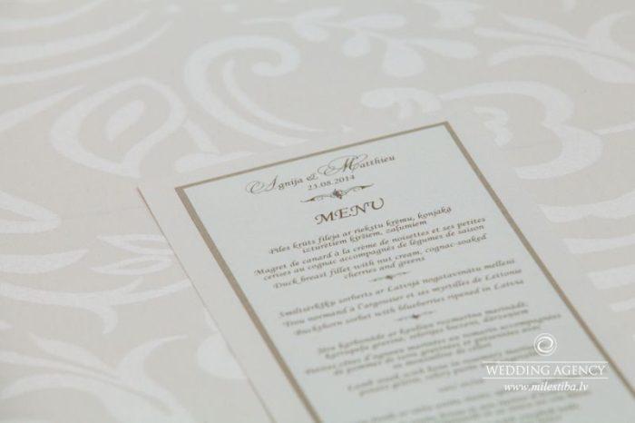 kāzu noformējumi, kāzas franču valodā