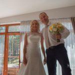 jaunais pāris, kāzas pie jūras