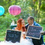 oriģināla kāzu fotosesija
