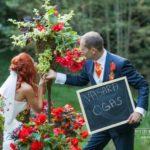 oriģinala kāzu fotosesija, kāzas Gulbenē