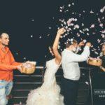 jaunā pāra aktivitātes kāzās
