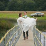 tilti kāzās