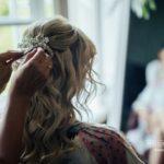 kāzu make-up, kāzu frizūra