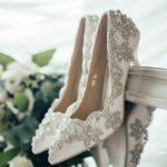 līgavas kurpes