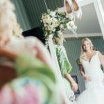 kāzu rīta ģērbšanās