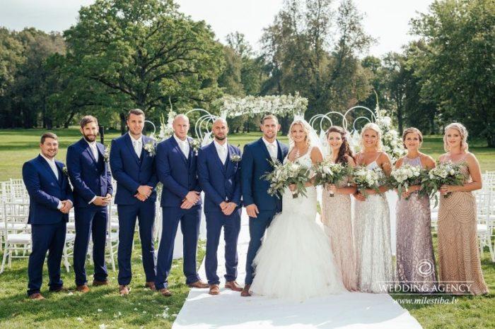 līgavas māsas, līgavaiņa brāļi