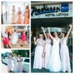 līgavas māsas kāzās, Radisson hotel kāzās