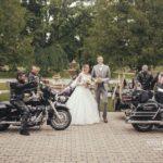 kāzu atrakcijas, motocikli kāzās