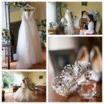 kāzu kleita, kāzu kurpes