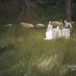 kāzu romantiskais galdiņš, kāzu fotosesija