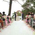 laulību ceremonija, jūra kāzās, laulību ceremonija, tēvs un līgavainis kāzās, Kāzu Aģentūra