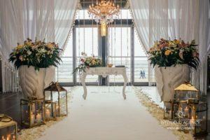 kāzu noformējums, karaliskas kāzas, vip kāzas