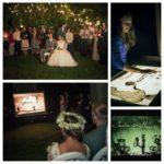 smilšu ēnu animācija kāzās